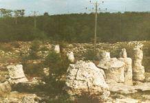 Steinerner Wald in der Nähe von Varna