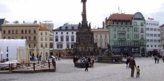 Der Horní nám. (Oberer Platz) von Olomouc