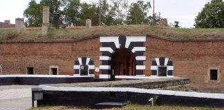 Typischer Eingang zu einer habsburgischen Festung