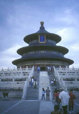 Peking: Hauptgebäude des Himmeltempels