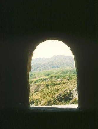 Grosse Mauer: Blick aus einem Wachturm