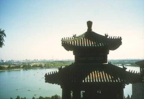 Peking: Kunming-See am Sommerpalast