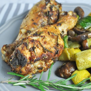 Paprika and Garlic Roasted Chicken