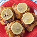 Roasted Lemon Pepper Chicken Thighs