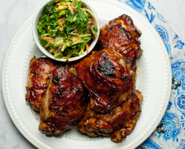 Sweet Heat Barbecue Baked Chicken