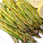 Roasted Lemon Butter Asparagus