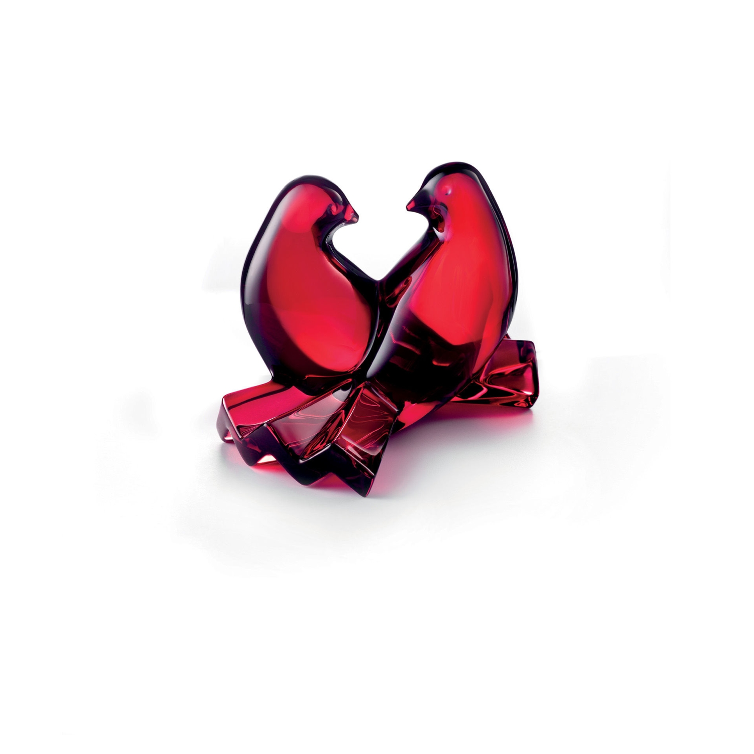 Valentine S Day Gift Dove Red Baccarat 2102796 Cad