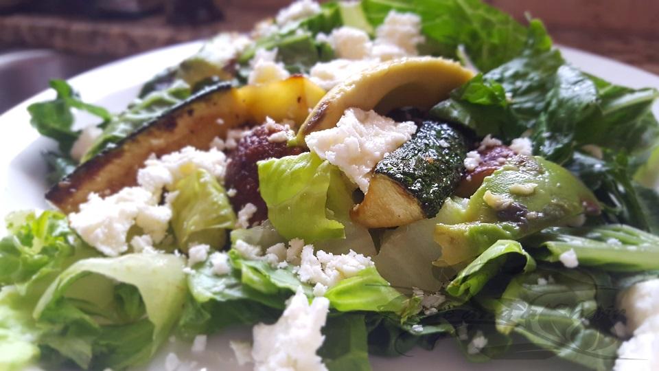Easy Zucchini and Mushroom Salad