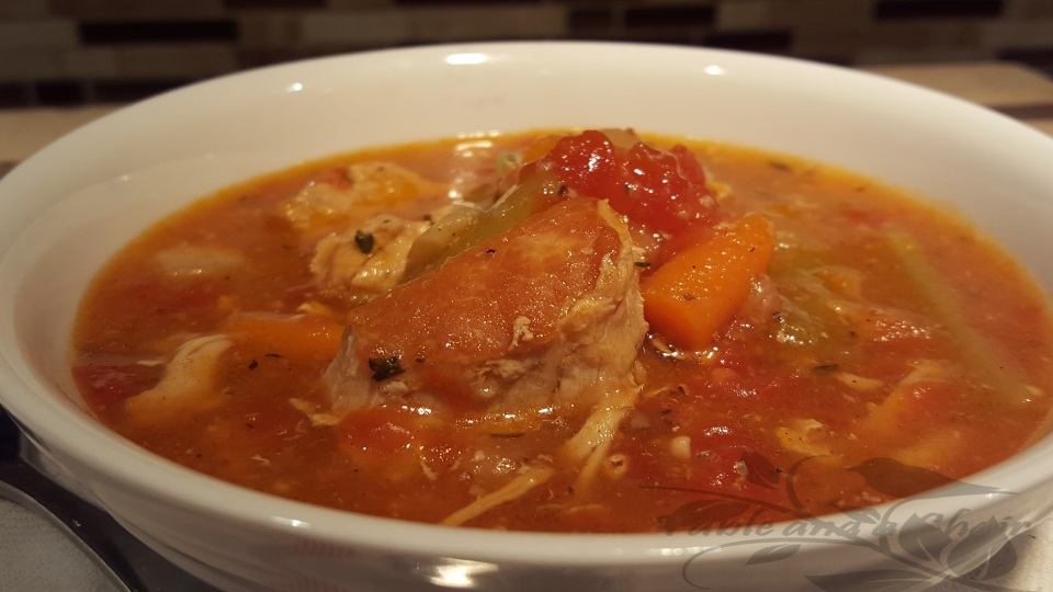 Hearty Pork and Veggie Stew