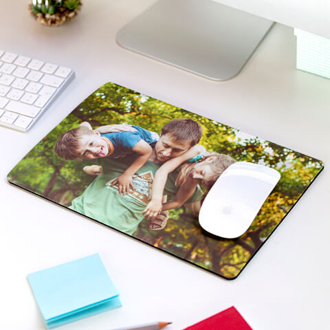 tapis de souris personnalise avec photo et texte