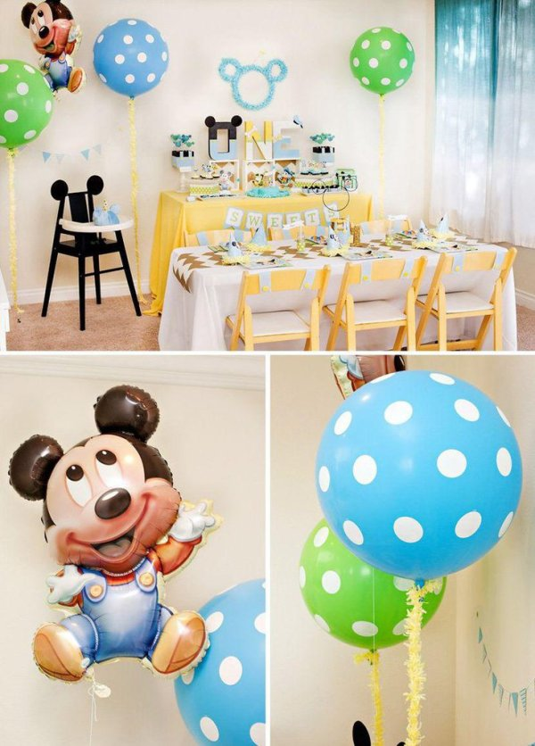 37 Cool First Birthday Party Ideas For Boys | Table ...