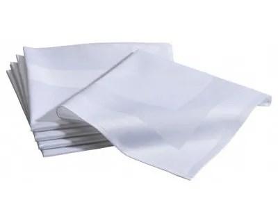 servet katoen wit huur verhuur huren servetten