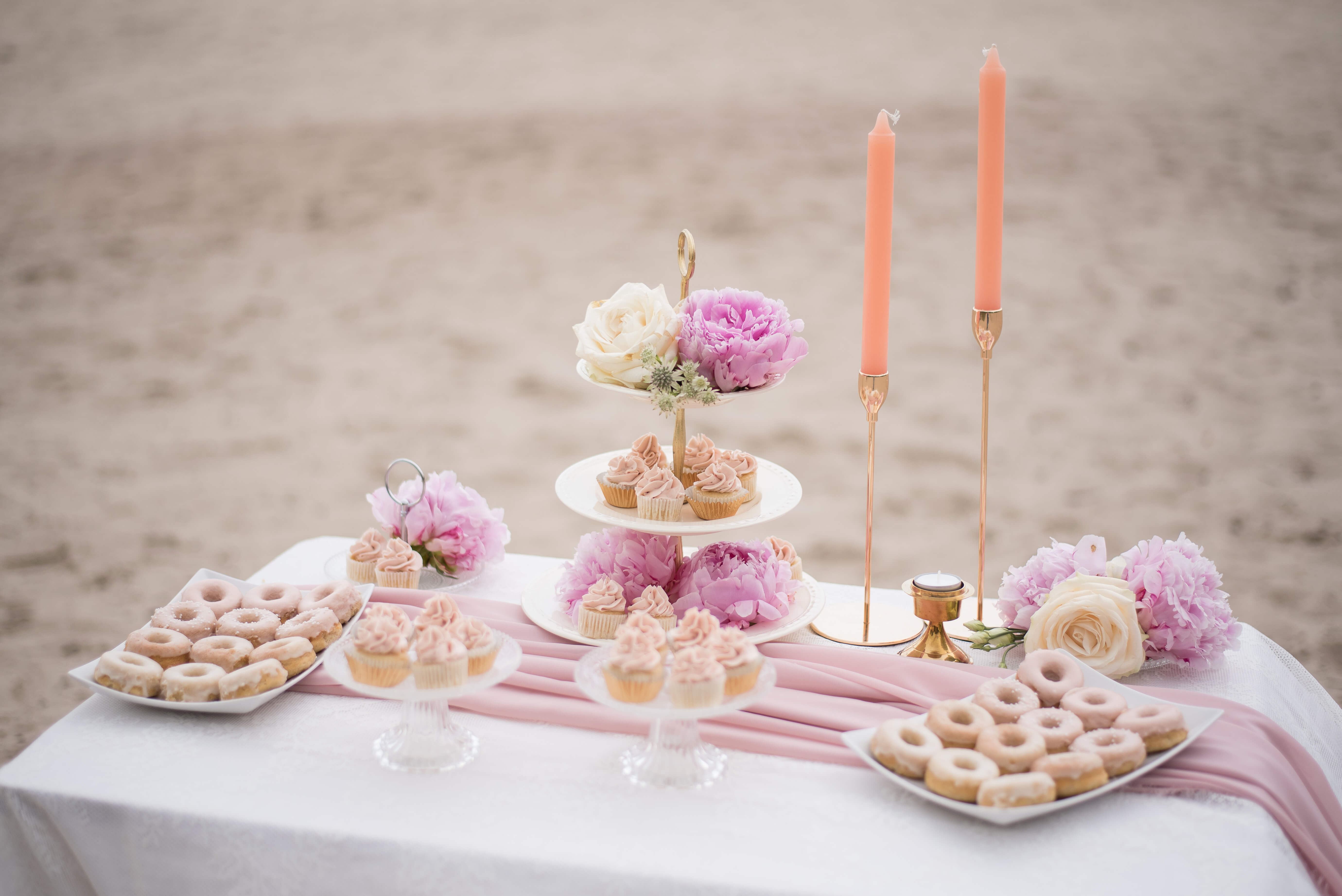 sweet table romantisch styling