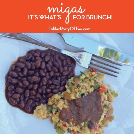 Migas. The best brunch ever!