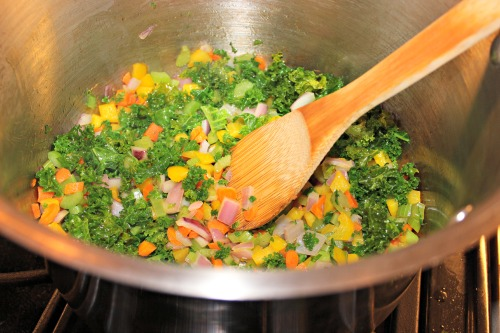 chicken artichoke soup kale