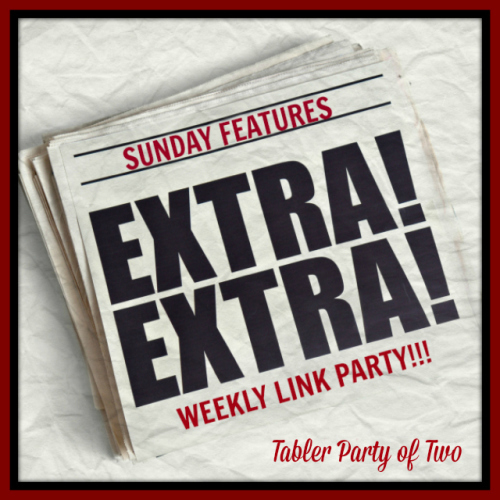Sunday Features Link Button Tabler