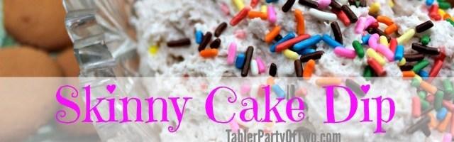 Skinny Cake Dip with Yoplait Greek 100 Whips!