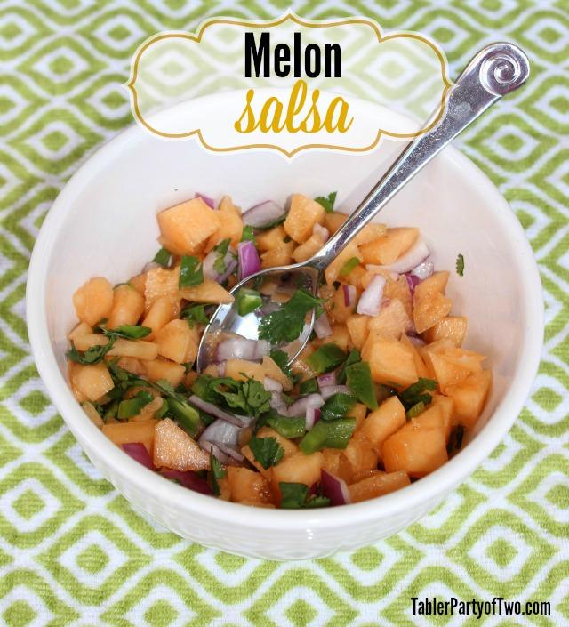 melon salsa