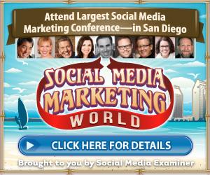 SOCIAL MEDIA MARKETING WORLD 2016