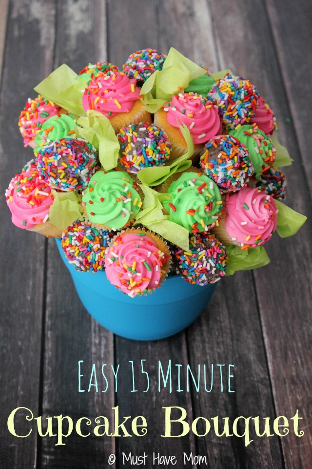 Easy-15-Minute-Cupcake-Bouquet