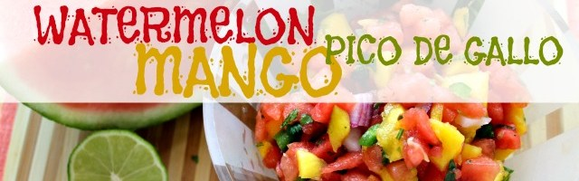 Watermelon Mango Pico de Gallo