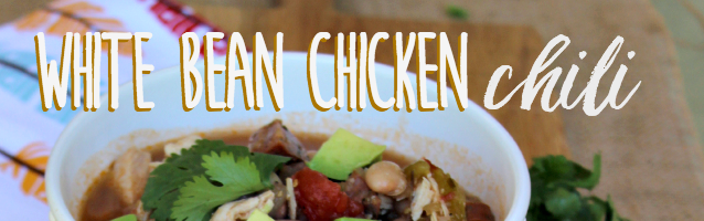 Easy and Delish White Bean Chicken Chili + I'm on Yummly!