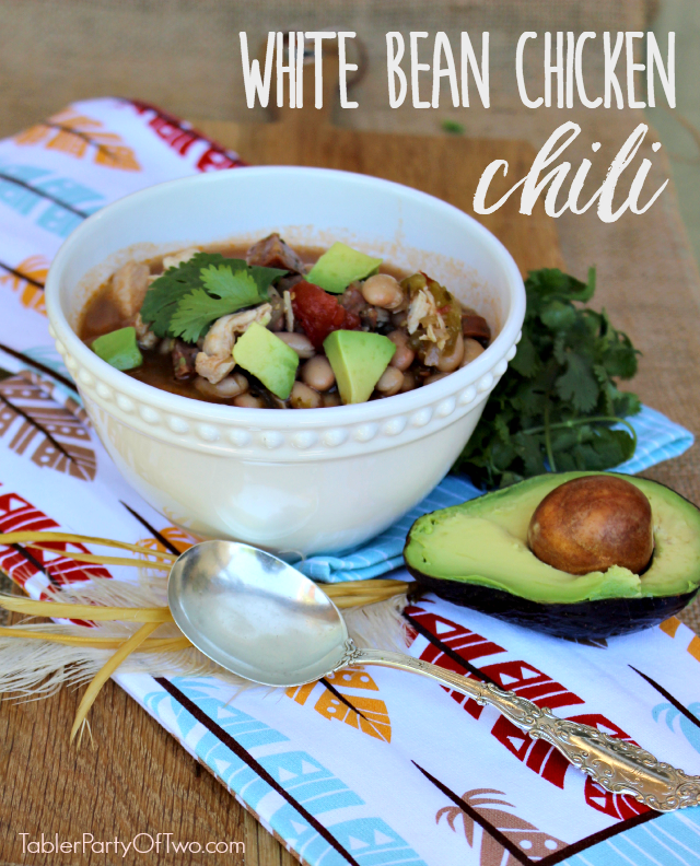 Easy and Delish White Bean Chicken Chili