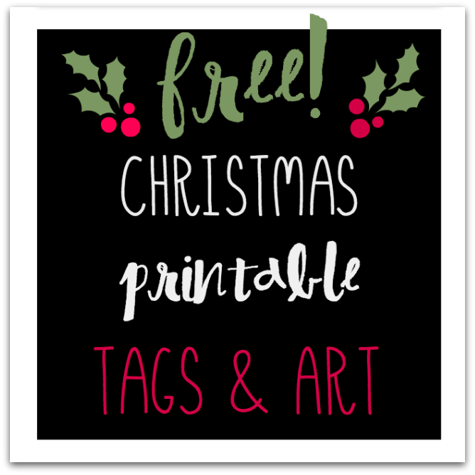 Darling, FREE chalkboard gift tags! TablerPartyofTwo.com