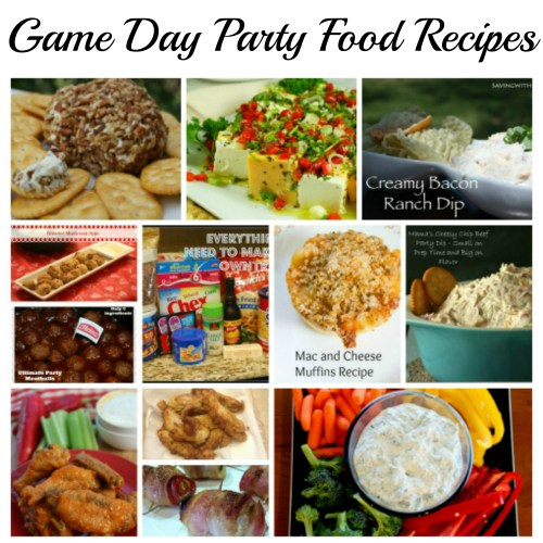Game Day Party Food Recipes