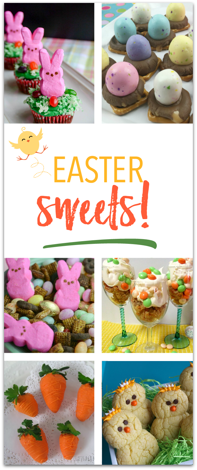Easter Sweets your kids will LOVE to help make! TablerPartyofTwo.com