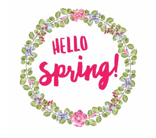 Hello Spring! Printable