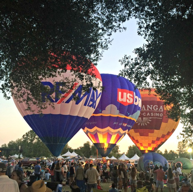 Can't wait for the Temecula Balloon and Wine Festival!