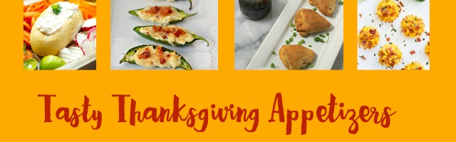 Thanksgiving Appetizers at Sunday Features {101}