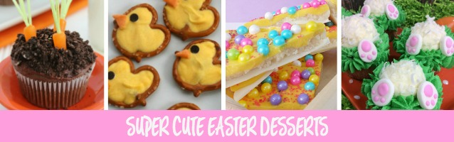 Super Cute Easter Desserts and Sunday Features {121}