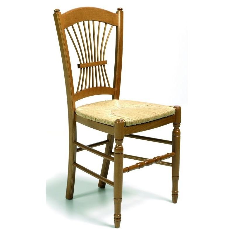 Chaise PROVENCALE En Bois Et Chaise En Bois Rustique