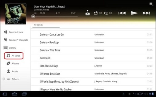 sony-s1-s2-musik
