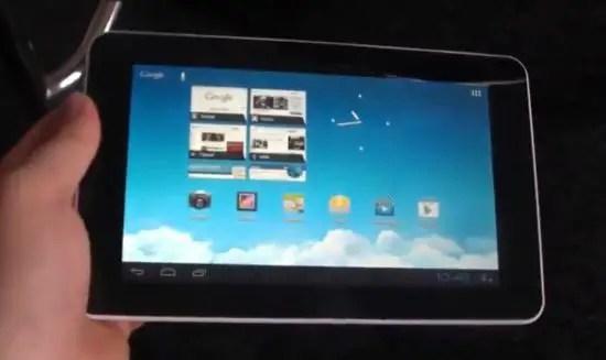 Huawei MediaPad 7 Lite Test
