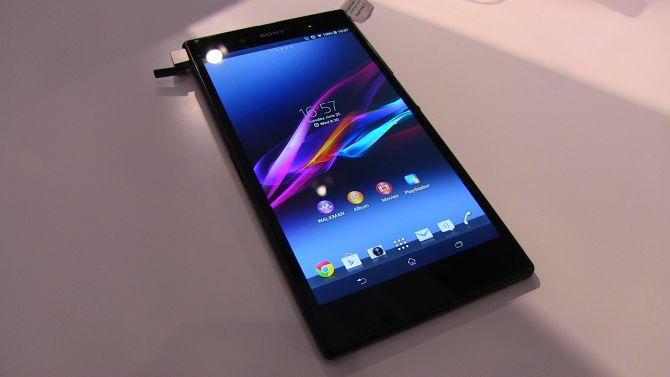 Sony Xperia Z Ultra Hands On