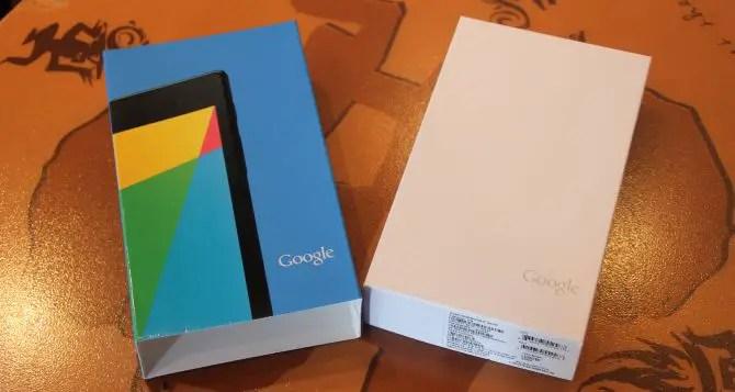 Nexus 7 2013 Unboxing