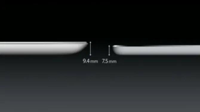 iPad Air dünner