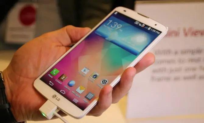 LG G Pro 2 auf dem MWC
