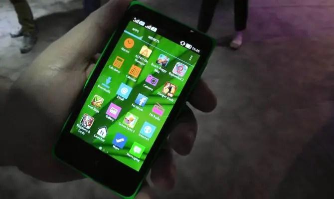 Nokia X Nova Launcher