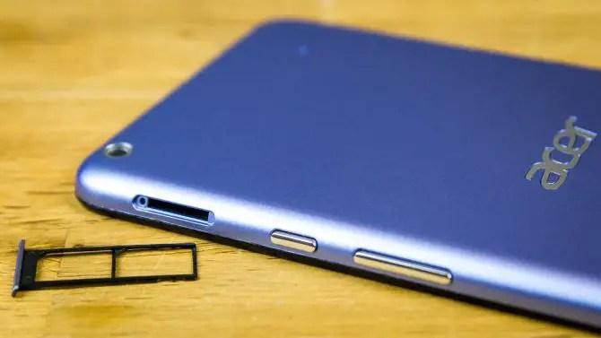 Acer Iconia Talk S mit Dual-SIM