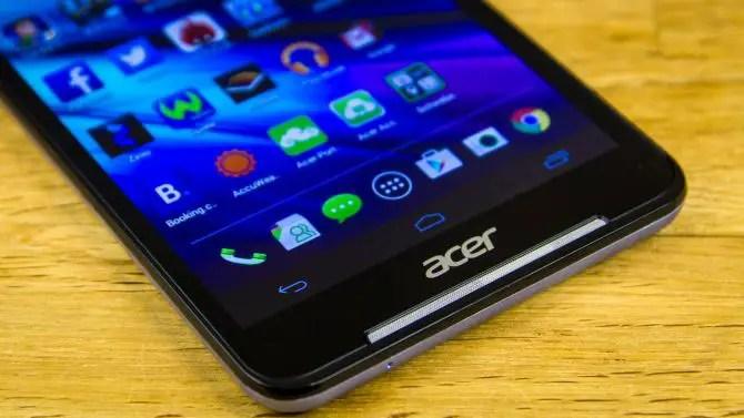 Acer Iconia Talk S Lautsprecher