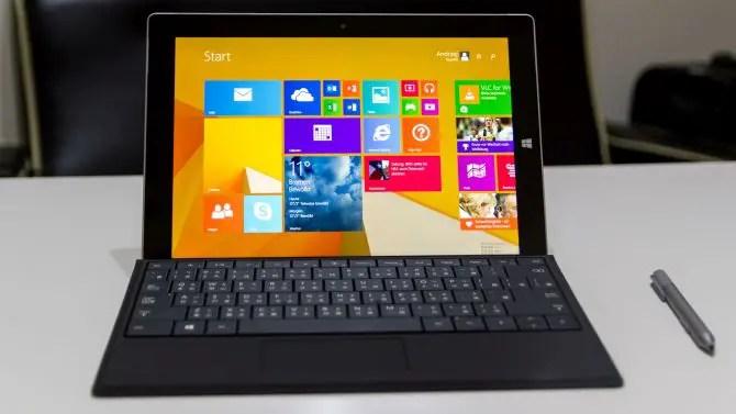 Microsoft Surface 3 erste Eindrücke
