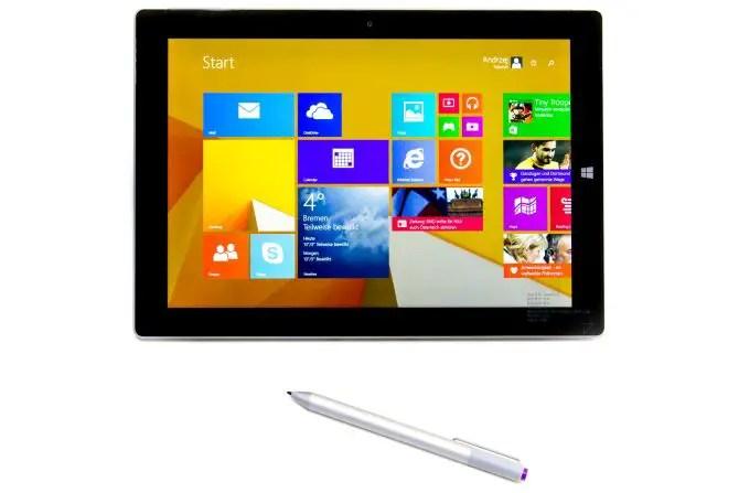 Microsoft Surface 3 mit Stylus