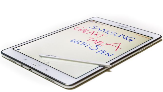 Samsung Galaxy Tab A mit S-Pen Stylus