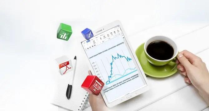 Samsung Galaxy Tab E mit Office
