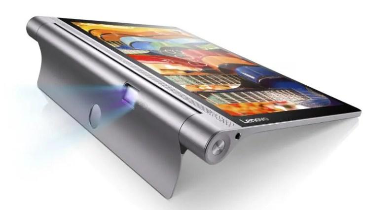 Lenovo Yoga Tab 3 Pro mit Beamer