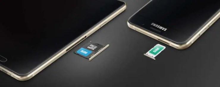 Samsung Galaxy A9 mit DualSIM